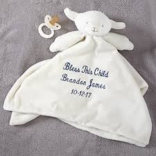 baptism blanket personalized personalized lovable blankie
