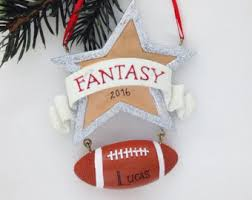 football ornament etsy