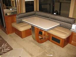 Rv Dinette Booth Bed Rv Mod One Of A Kind Rv Dinette Table Elegant And Space Saving