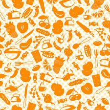 couture accessoire cuisine illustration sans couture avec les icônes simples sur les