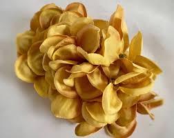 Flower Clips For Hair - mustard hair clips etsy