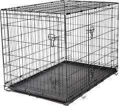 Dog Crate Covers Frisco Fold U0026 Carry Double Door Dog Crate 42 Inch Chewy Com