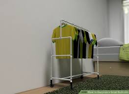 Bedroom Clothes Horse How To Decorate A Small Bedroom 11 Steps With Pictures