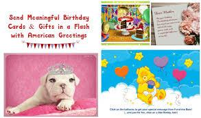 sending meaningful birthday ecards with american greetings