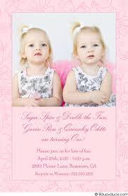 birthday invitation sugar u0027n spice little girls pink photo