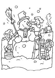 free printable winter coloring picture winter coloring pages