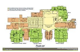 preschool floor plan layout johnston schools bond 2013 renovation to current middle