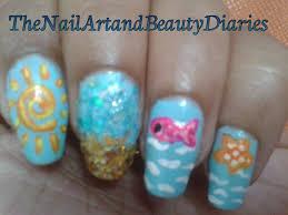 sun summer designs imas nail art sun nail art robin moses nail