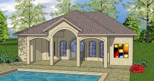 pool house plans with bedroom house plans 1 bedroom pool adhome