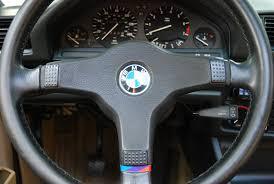 bmw 325i steering wheel 1987 bmw 325is jet black pearl beige 5 speed