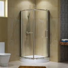 bathroom folding bathroom shower door with nickel frame bathroom