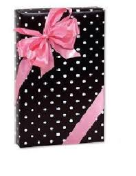 black gift wrapping paper roll trendy brand new black white polka dots gift wrap