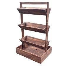upc 085073939624 vertical garden wood planter brown upcitemdb com