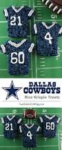 what jersey will the cowboys wear on thanksgiving dallas cowboys rice krispie treats two sisters crafting