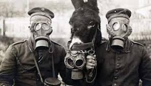 Masker Gas gas masks for babies tested at an hospital 1940