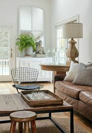 Small Chair For Living Room Living Room Brown Leather Furniture Sofas Small Living Room