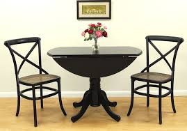 Dining Room Tables With Leaf by Amazon Com Carolina Cottage 42 Inch Round Drop Leaf Table