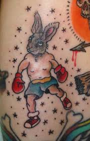 looking for unique traditional american tattoos tattoos bunny boxer