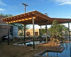 Pergola With Shade by Tucson Pergolas Shade Sails U0026 Awnings Kmac Landscaping