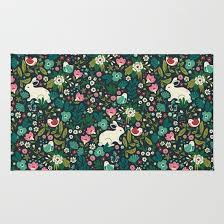 Forest Rug Forest Friends Rug By Anna Deegan Society6