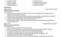 restaurant manager resume objective resume objective examples