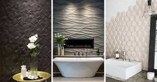 new bathroom tile ideas bathroom tile idea install 3d tiles to add texture to your