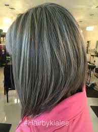 silver hair with lowlights natural grey with high and lowlights hairstyles to try