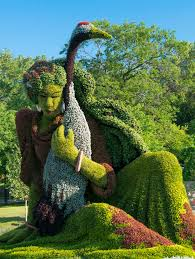 Botanical Gardens In Ohio by Plant Sculpture Topiaries From Botanical Garden
