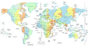 Travel Time Map I Need To Know What Time It Is Around The World So I Can See If