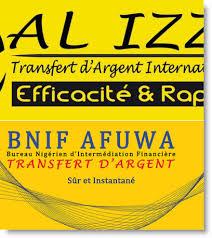 bureau de transfert d argent exclusif niger al izza transfert d argent et bnif afuwa