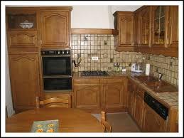 meuble cuisine chene vue d ensemble de la cuisine en chêne photo de une cuisine