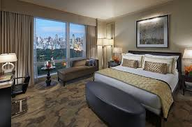 chambres york chambre avec vue sur central park hôtel mandarin york