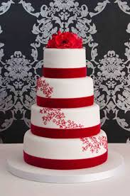 romantic red wedding cake designs wedding cake cake ideas by