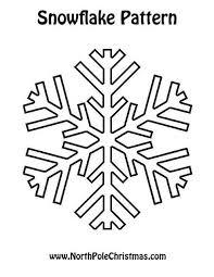 snowflake 2 print pattern