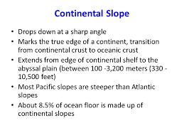 features of the ocean floor ppt video online download