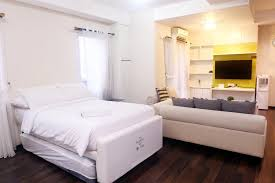 apartment studio 4pax thamrin city cosmo terrace by travelio