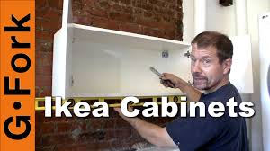 Ikea Kitchen Cabinet Installation Video by Hang Ikea Cabinets Gardenfork Youtube