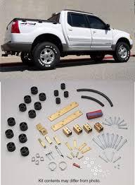 2000 ford explorer lift performance accessories ford sport trac 3 lift kit 70023