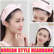 korean headband qoo10 korean headband cat headband household bedding