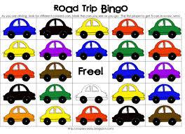 Halloween Bingo Cards Printable For Kids Printable Road Trip Bingo