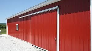 Pole Barn Door Hardware by Door How To Choose An Overhead Door Pole Barn Sliding Door Trim
