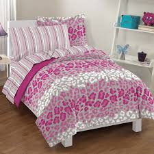 Leopard King Size Comforter Set Valentine Days Queen Bed Sheet Sets For Kids Bedding Decorations