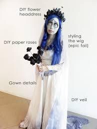 Dead Bride Halloween Costume Diy Corpse Bride U2026 Halloween Corpse Bride