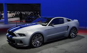 mustang 22 inch rims need for speed mustang shows up at the la auto 2015 ford