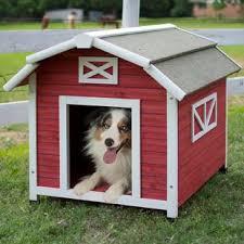 dog barn indoor dog house wayfair
