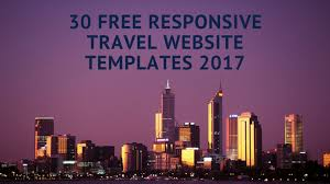 30 high quality html5 bootstrap business travel itinerary template