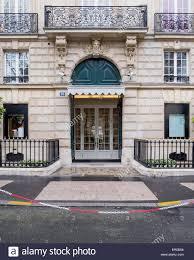 christian dior designer store facade and entrance avenue