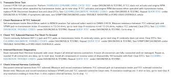 transmission tcc solenoid and repair i suspect i am having