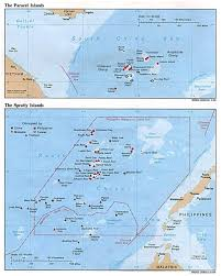 Physical Map Of Southwest Asia by Maps Of Paracel Islands Detailed Map Of Paracel Islands In