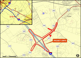 Interstate Map Augusta County Interstate 64 Exit 91 Improvements And Route 285